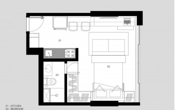 immobilier Appartement 1028