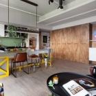 Appartement Une approche ludique pour une vie moderne à Taïwan : la Cour de récréation familiale de maison Design