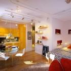 Appartement Vive Ambiance habilement réalisé dans petit appartement près de Saint-Pétersbourg