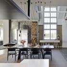Appartement Caserne de l'armée exceptionnellement transformée en appartement familial en Allemagne : Loft ESN