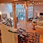 Appartement Loft Style industriel, à San Francisco, présentant un Design impressionnant