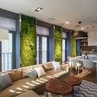 Appartement Remarquable appartement familial agrémenté des jardins verticaux lumineux