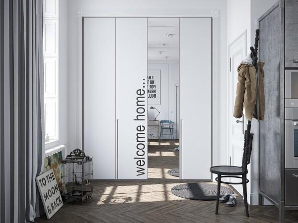 Appartement scandinave jazz par des l ments de design - Appartement style industriel ...