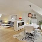 Appartement Lumineux appartement de 3 chambres affichant un Style scandinave moderne
