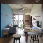 Appartement Avion Inspiration fusionné avec chaleur nordique : Maison environ au lancement à Taïwan