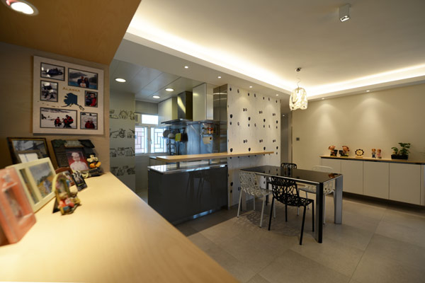 Design minimaliste pr sent par appartement contemporain hong kong immobilier appartement - Farbiges modernes appartement hong kong ...