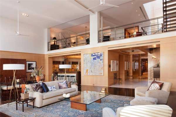 Penthouse de luxe new york sur tribeca s duane street - Immobilier de luxe penthouse manhattan ...