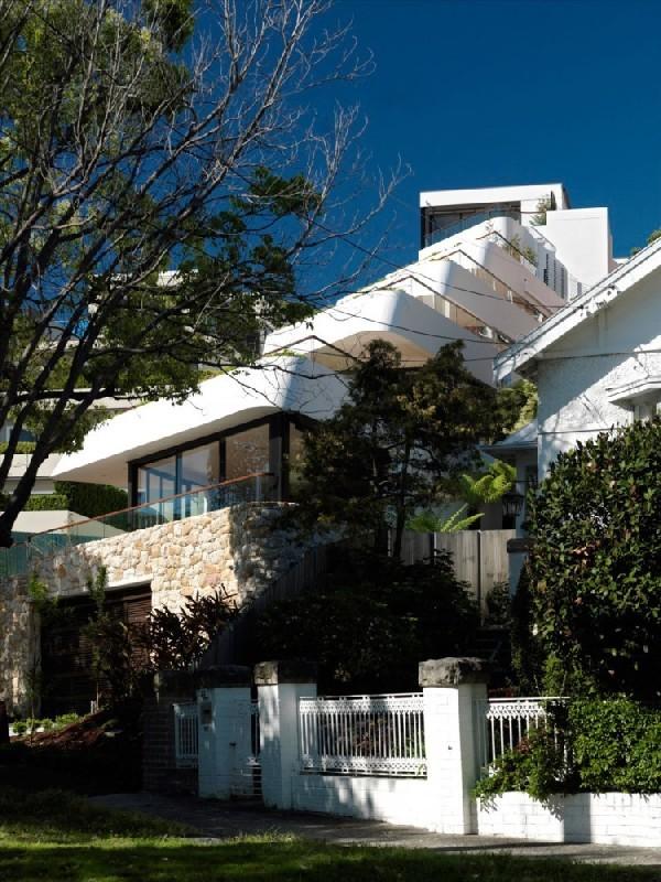 Immeuble futuriste en australie en cascade vers le bas bellevue hill immobi - Appartement australie ...