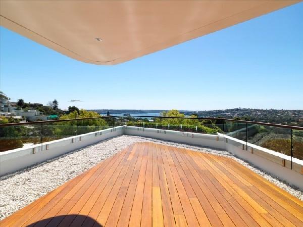 Immeuble futuriste en australie en cascade vers le bas - Appartement bellevue hill rolf ockert design ...