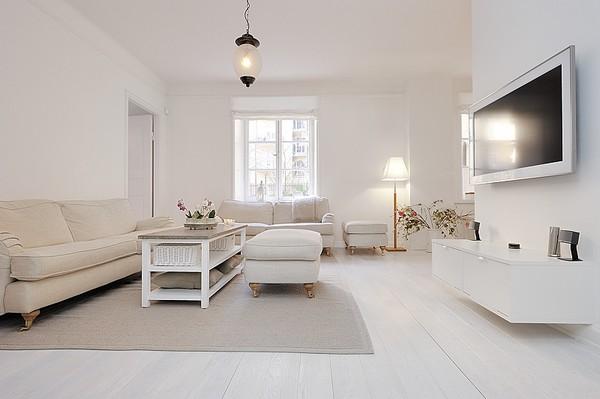 Appartement minimaliste design stockholm avec des for Photo appartement design