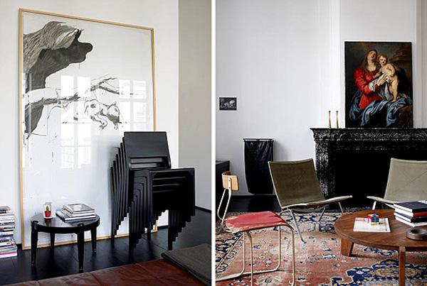 Ravissant Appartement M Le Les Styles Contemporains Et