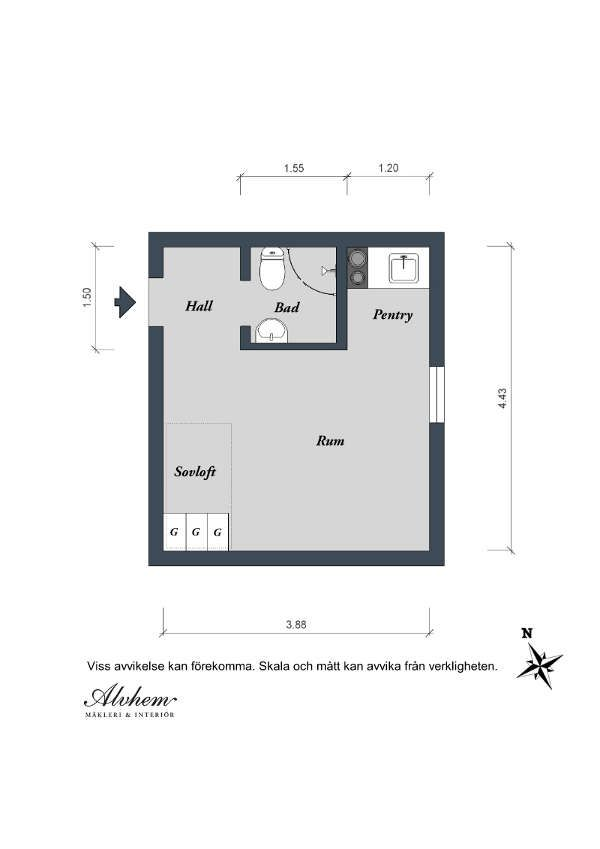 plan appartement petit