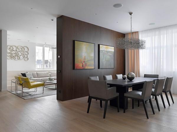 Loft contemporain en russie int grant des l ments de design l gant immob - Loft design immobilier ...