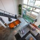 Appartement Vintage Loft moderne de Double hauteur à Vancouver créativement conçu par TheMACNABS