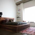 Chambre L'Art perdu de la gravure sur bois chinoise ancienne : magnifique Q Lin Bed