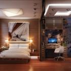 Chambre Chambre confortable, moderne et pratique avec un thème d'inspiration voyages