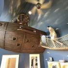 Chambre Unique chambre à coucher Design par Steve Kuhl, mettant en vedette un bateau Pirate