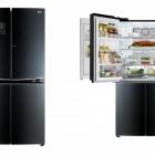 Cuisine LG ' réfrigérateur de porte en porte Intuitive s: Slick Design et optimisé l'accès à la nourriture