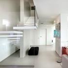Cuisine Alerte tendance : Escalier avec des Insertions de lumière de Luxo