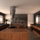 Cuisine Hotte en acier rétractable pour cuisines contemporaines, par Samuel Codegoni [vidéo]