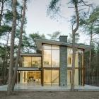 Maison Villa moderne Kerckebosch tenant dans un paysage boisé aux pays-bas