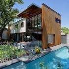 Maison Petit Bungalow transformé en maison unifamiliale contemporaine à Perth, en Australie