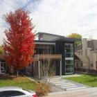 Maison Mélange ludique de Textures comme toile de fond pour la vie moderne : 150 Hudson résidence