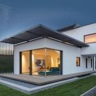 Maison Élégance fonctionnelle : Concept maison présentant une Palette de couleurs apaisantes