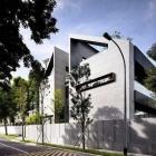 Maison Inspiration zen habitation avec une géométrie puissante Architecture moderne : maison de 66MRN
