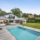 Maison Conception de la Villa moderne, en Suède, équilibre entre vie privée et sociale Fun