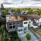Maison Maison duplex contemporain avec vue sur le centre-ville de Seattle et Mt. Rainier