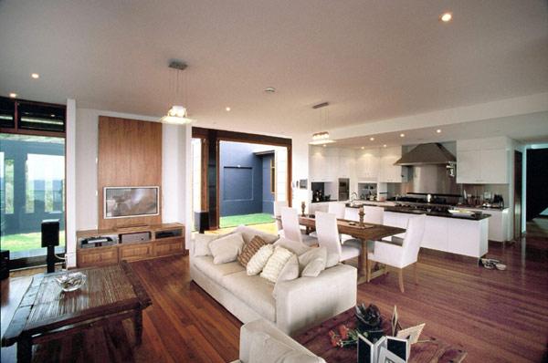 Maison de cinq chambres en australie prenant en entourant - Magnifique residence hunters hill en australie ...