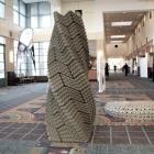 Maison 3D innovante imprimé béton capable de résister aux tremblements de terre : la colonne de Quake