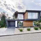 Maison Hommage aux lignes obliques dans l'Architecture de la maison moderne : maison W