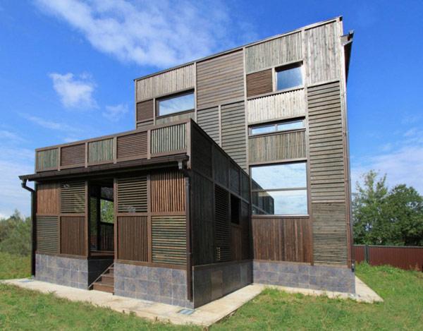Architecture de la maison russe avec un int ressant for Autrefois maison privee