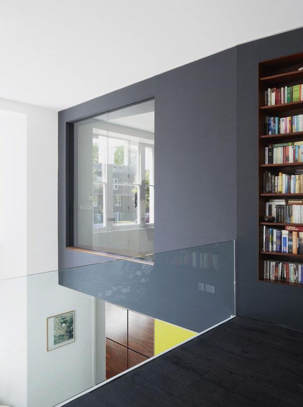 Villa victorienne ajout d 39 une extension de type origami for Architecture victorienne a londres