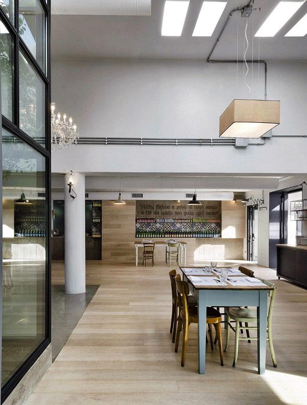 Kook moderne et surprenant restaurant pizzeria design rome immobilier maison 08 06 2017 - Kook idee ...