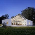 Maison Respectueux de l'environnement élégant Ranch, en Californie, remodelage de la vie familiale rurale