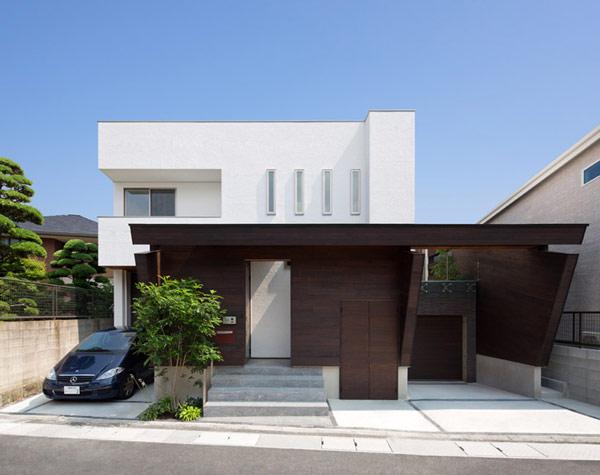 Bien-aimé Bon exemple de l'Architecture japonaise moderne créative : U3  OT34