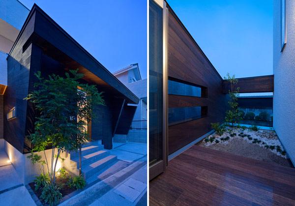Bon exemple de l 39 architecture japonaise moderne cr ative for Architecture japonaise moderne