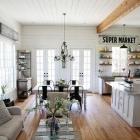 Maison Charmante ferme Design au coeur du Texas par les maisons de Magnolia