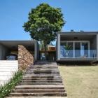 Maison Architecture contemporaine, dilué dans un paysage bucolique : ME loger
