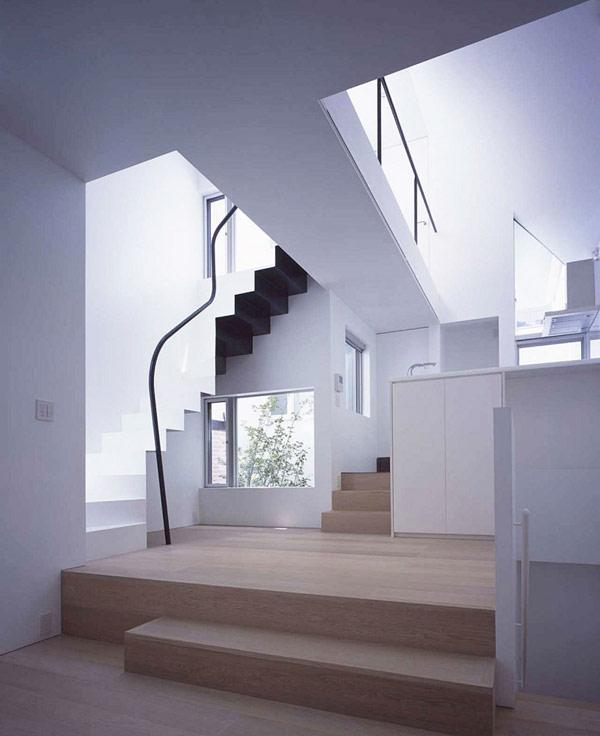 D fiant le manque d 39 espace dans le centre de tokyo for Architecture japonaise moderne
