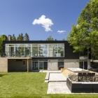 Maison Épuré moderne maison familiale à respirer dans Canadian River Panoramas