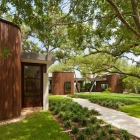 Maison Maison harmonieuse au Texas tressé dans le paysage