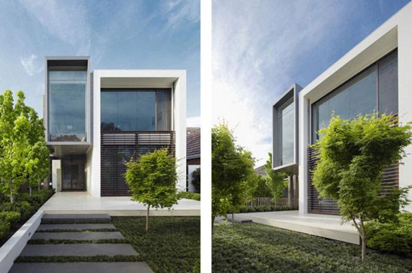 Architecture moderne en australie audacieuse hunter - La demeure moderne gb house par mmeb architects ...
