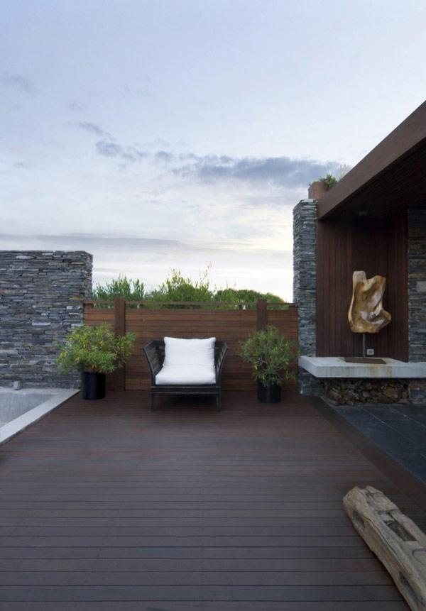 Maison moderne original design psicomagia r sidence en uruguay immobilier maison 19 09 2018 - Maison pricila martin gomez ...