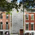 Maison Maison de ville de Manhattan étroit défilant Vertical Design