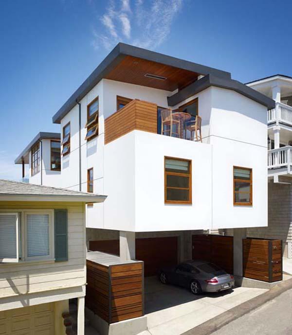 Charmante r sidence de malibu capture de vue sur l 39 oc an - Maison contemporaine malibu niles architecte ...
