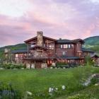 Maison Résidence accueillante de Style Ranch au Colorado offrant vue sur la montagne de parfait